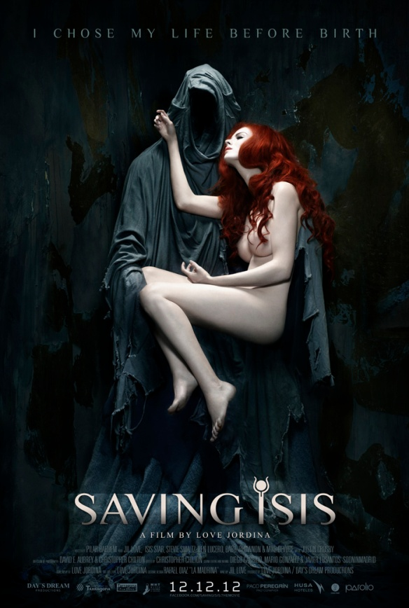 Saving Isis poster by Paco Peregrín.