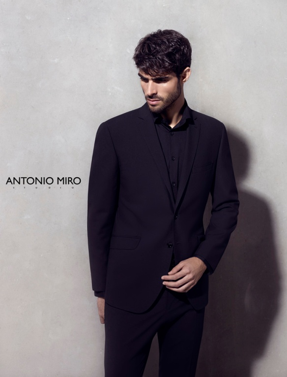 Antonio Miró advertising campaign, S/S 2014.