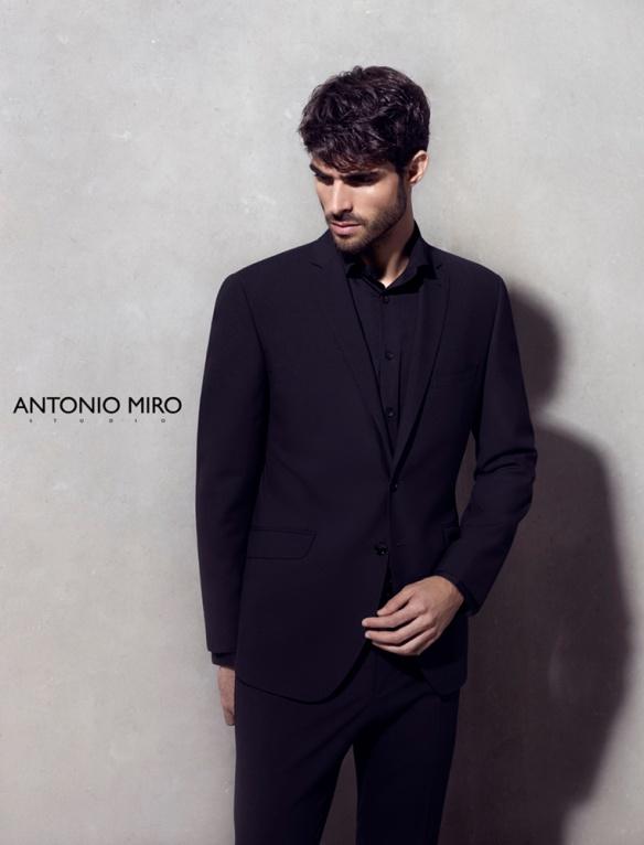 Antonio Miró advertising campaign, S/S 2014.
